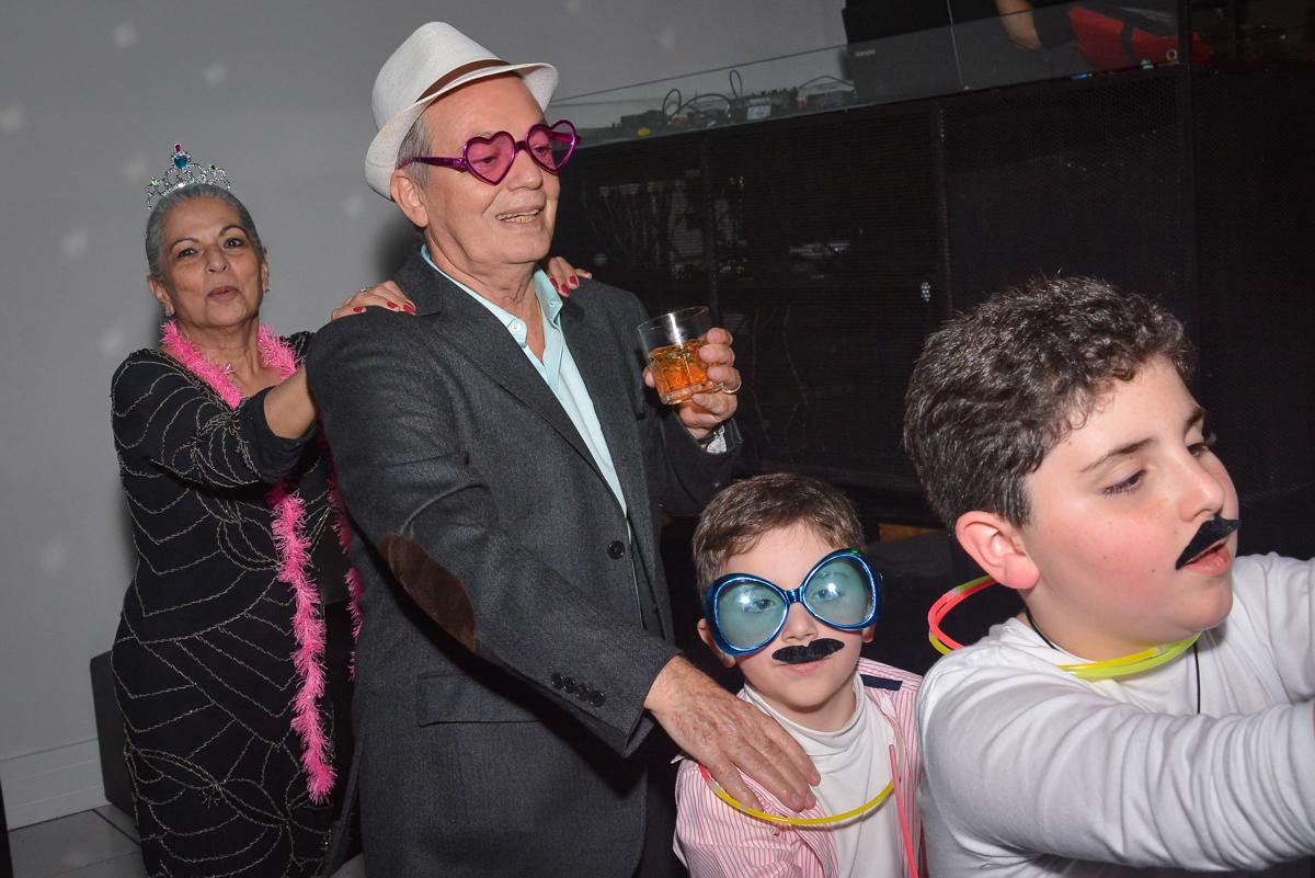 os netos também sao fotografados no Buffet Estação Club, Moema, São Paulo, SP