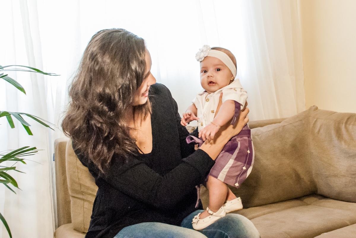 fotografia mãe e filha no ensaio familia carapicuiba, são paulo, sp