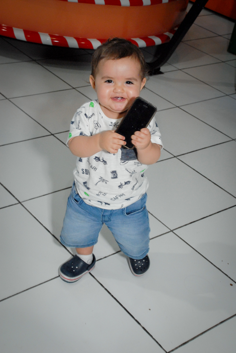 o bebê também se diverte no Buffet Magic Joy, Saude, São Paulo, aniversário de Beatriz 6 anos, tema da festa lady bug