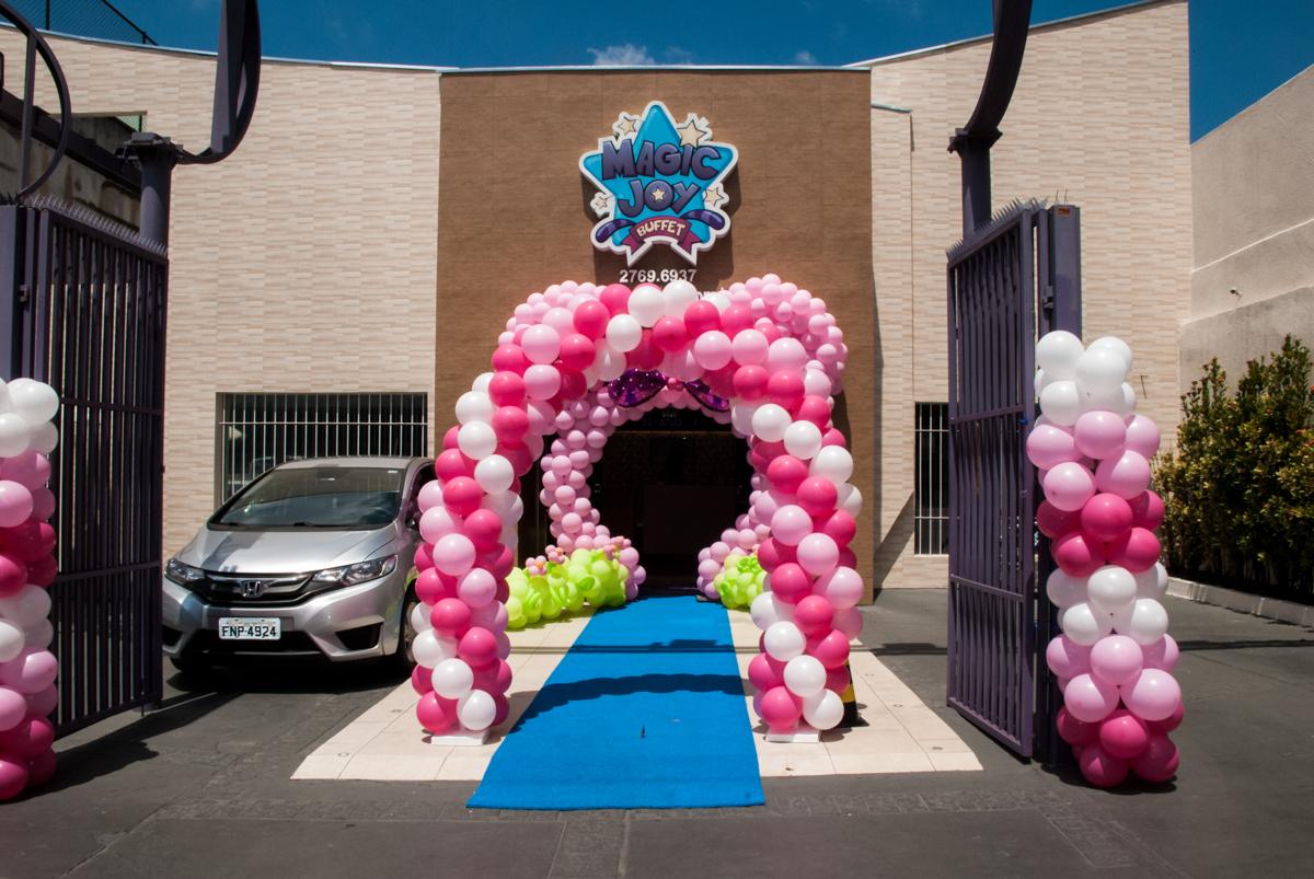 Buffet Magic Joy, Saude São Paulo, aniversário de Gabriela 1 ano, tema da festa minie rosa