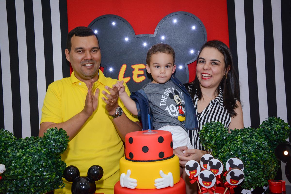 final da festa no Buffet Espaço Play, Osasco, São Paulo, aniversário Levi 2 anos, tema da festa Mickey
