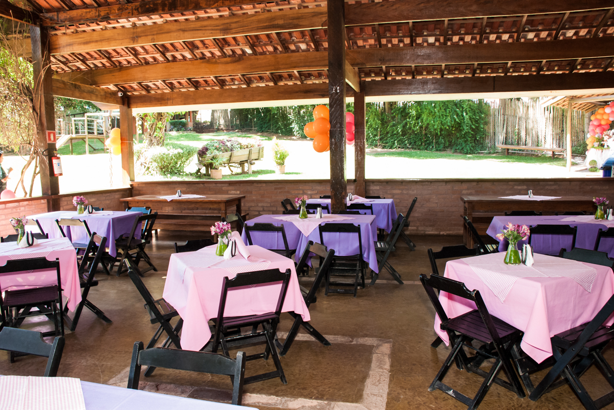 mesas decoradas no Buffet Pet Zoo, Cotia, São Paulo, aniversário de Maria Clara 4 anos, Buffet Pet Zoo, Cotia, São Paulo