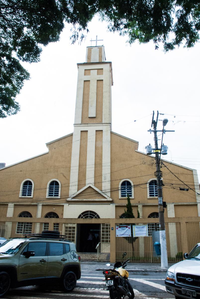 Bodas de Ouro Maria Luiza e José Rodrigues, igreja Santa Ângela e São Serapio, Ipiranga