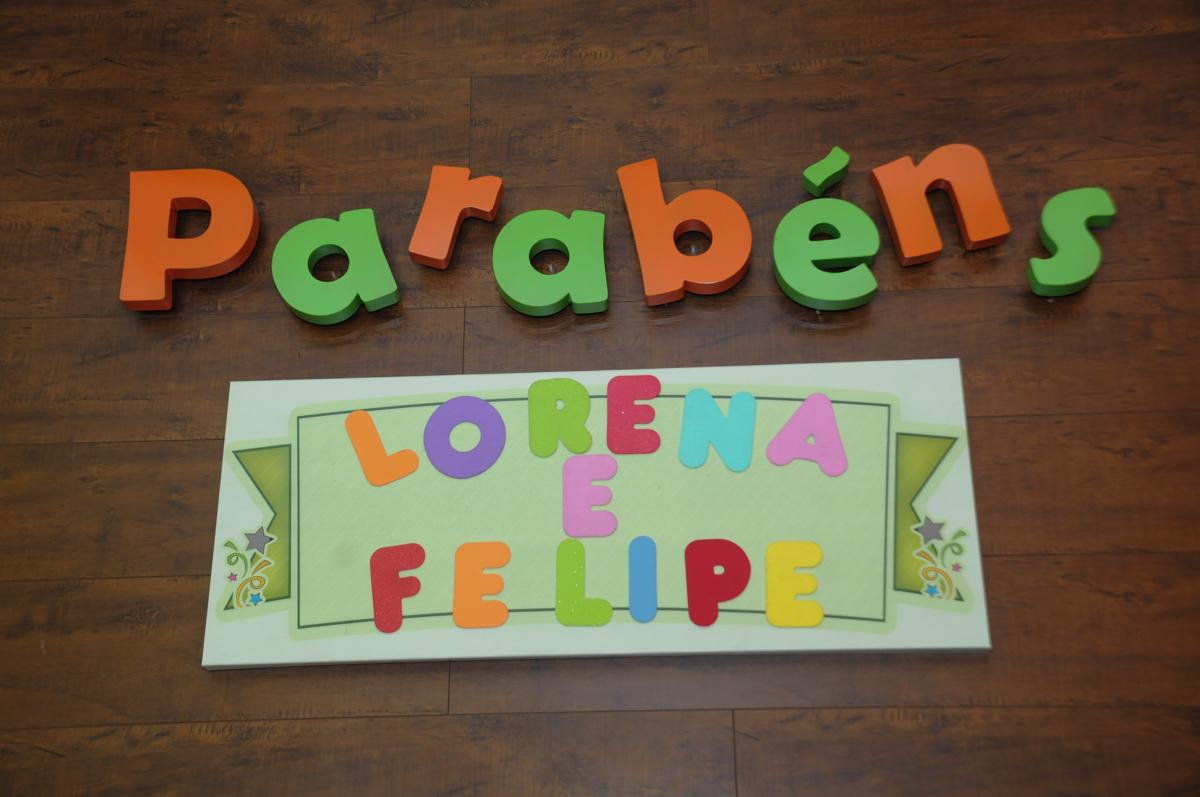Foto de Lorena 5 anos Felipe 2 anos