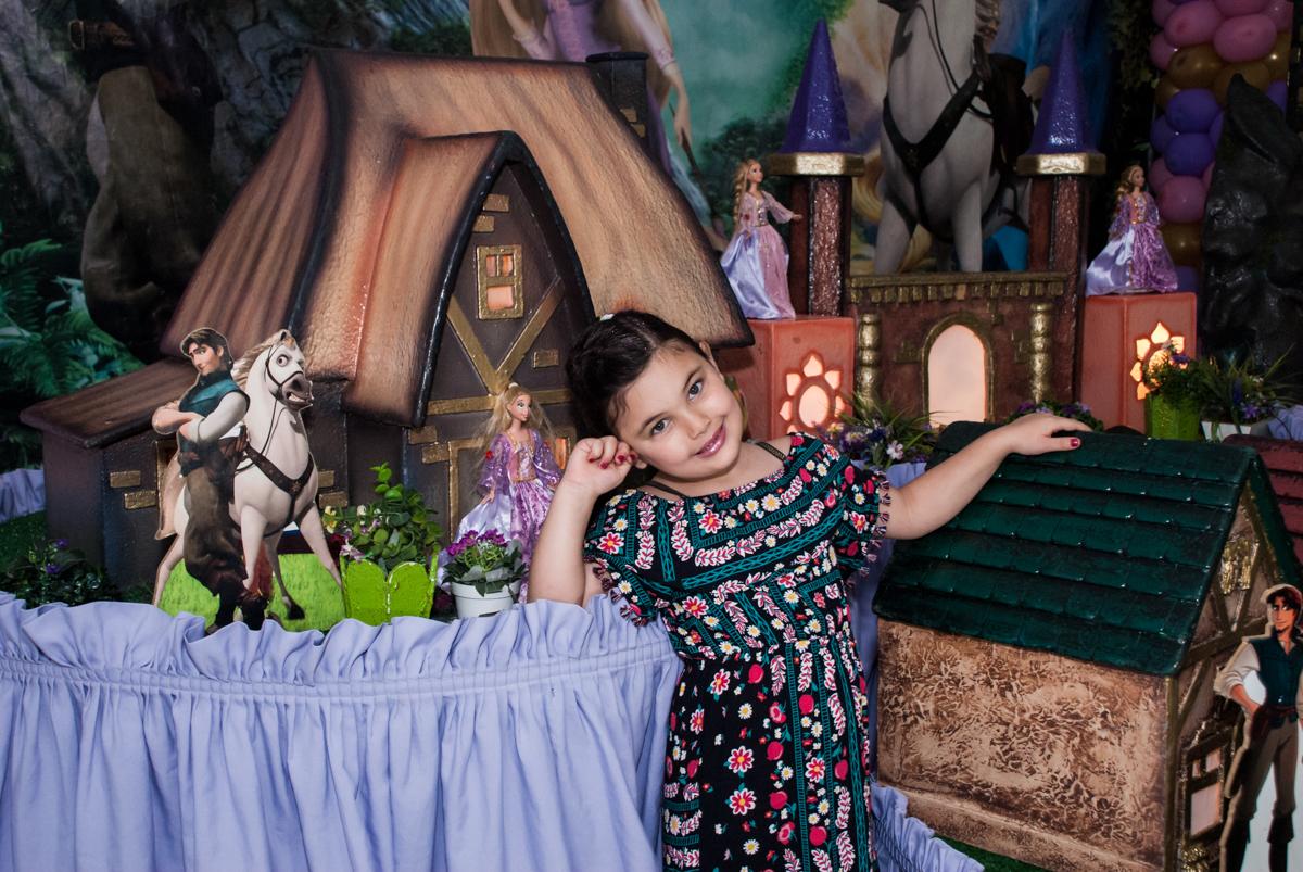 pose de princesa para as fotos