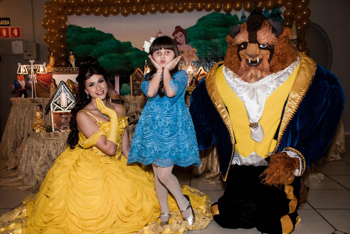 fotos com a Bela e a Fera