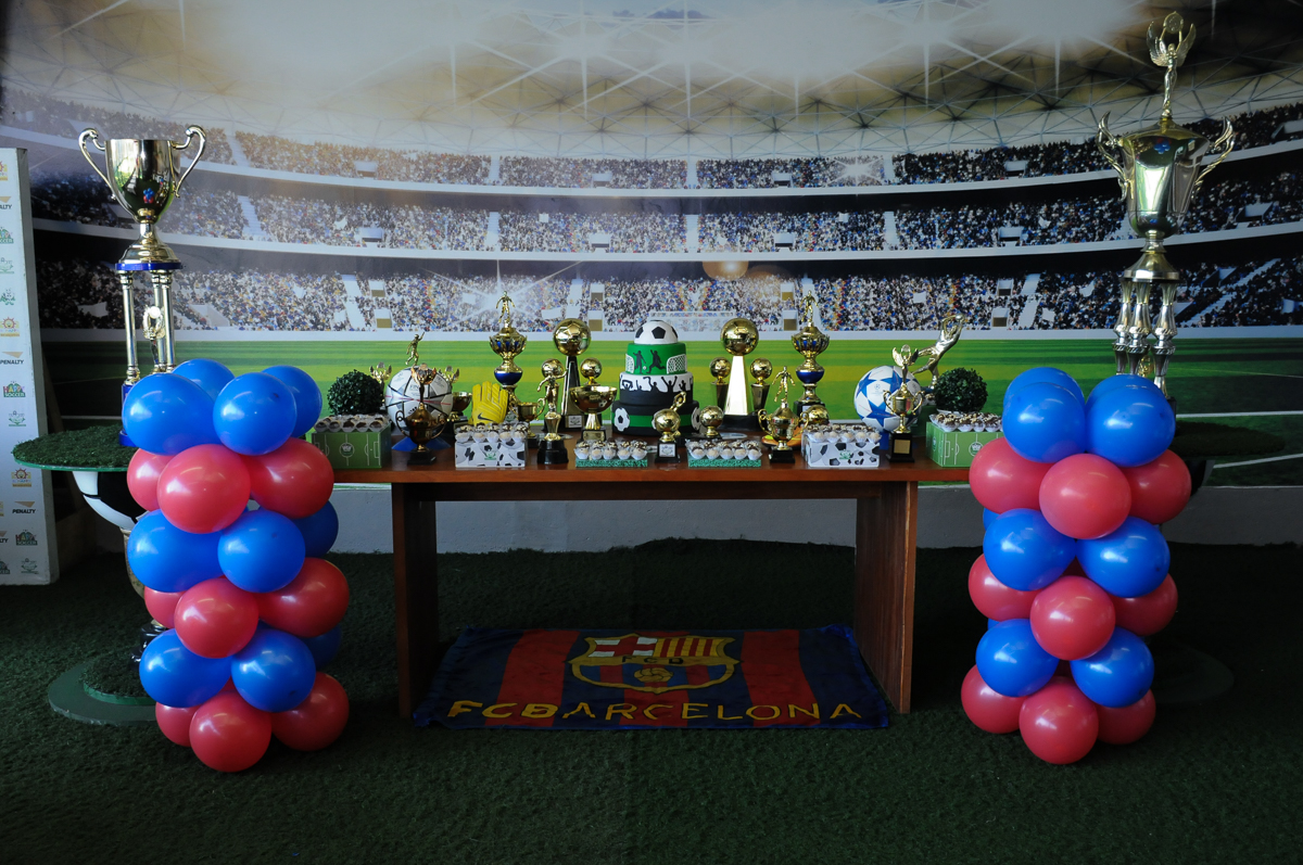 Fotografia da mesa de futebol do Buffet High Soccer