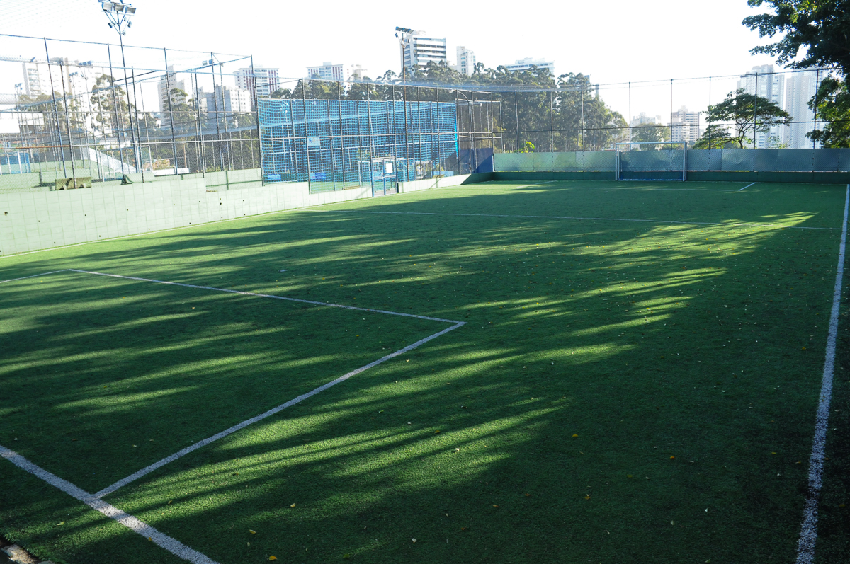 Fotografia do campo de futebol do Buffet High Soccer
