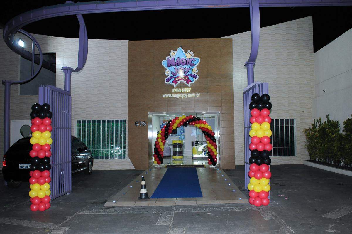 fachada do buffet magic joy, saude