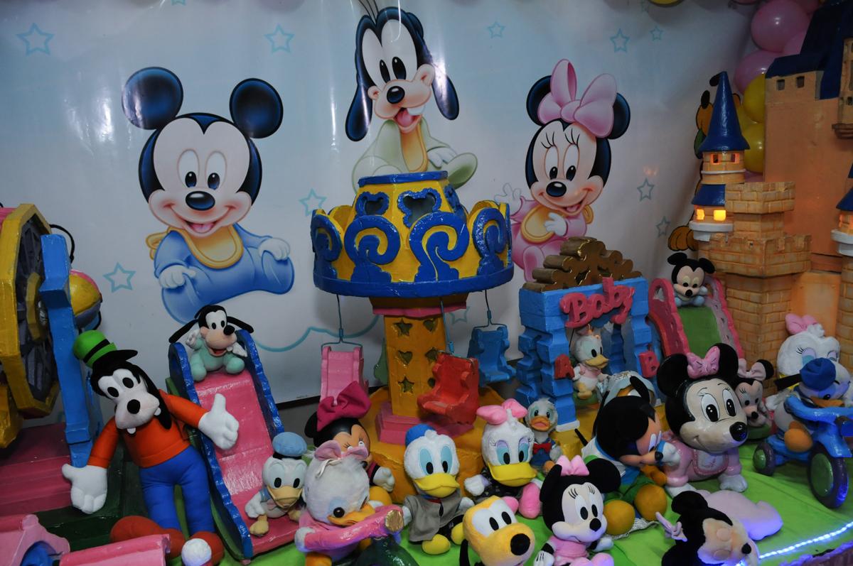 mesa da minie rosa no Buffet infantil na zona norte SP