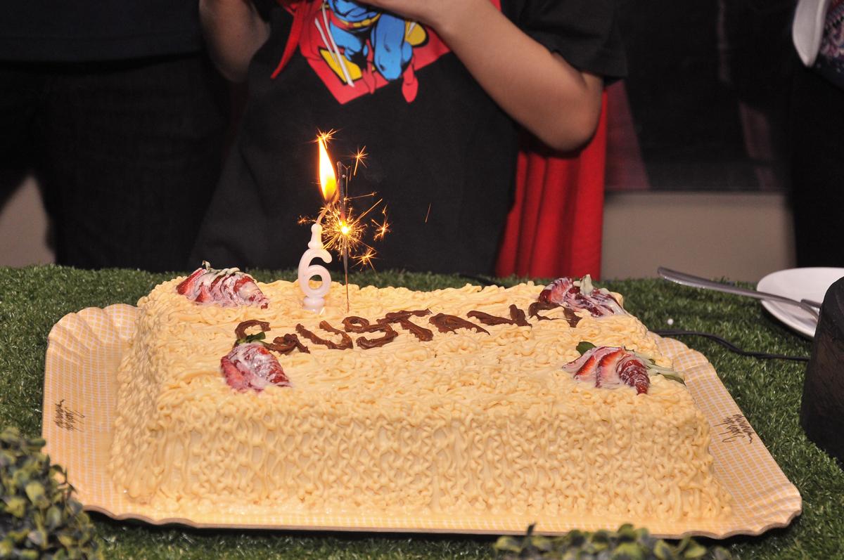 bolo de aniversário do gustavo no buffet viva vida, fazendinha butantã