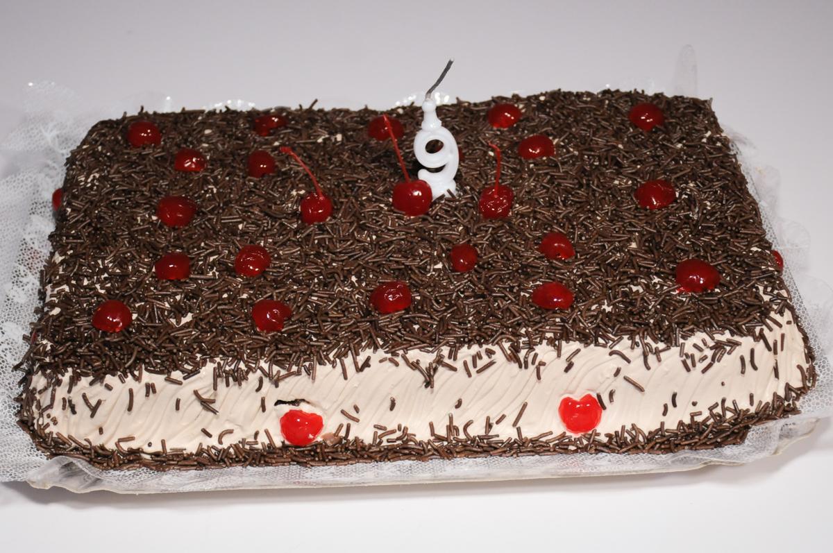 bolo de aniversário no Buffet Espaço Parabéns, Lapa
