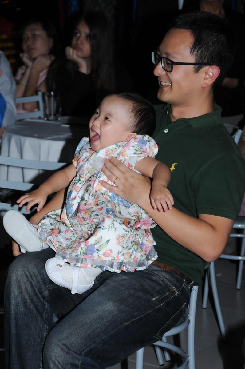momentos de alegria assistindo a retrospectiva no Buffet Infantil Anarquia Park, Moema, São Paulo, SP