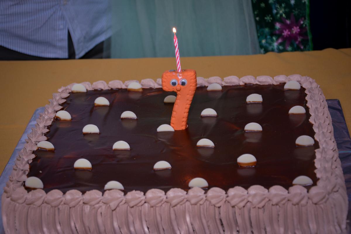 bolo de aniversário no Planeta Buffet, São Paulo