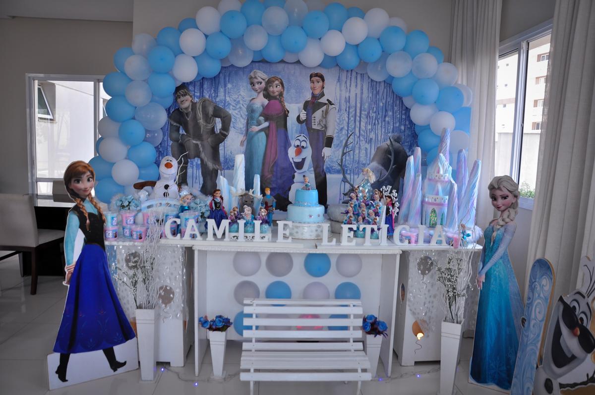 Condomínio São Paulo, SP, tema da festa Frozen