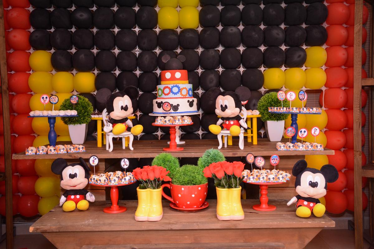 Condomínio Morumbi, São Paulo festa Leonardo 1 aninho, tema Mickey