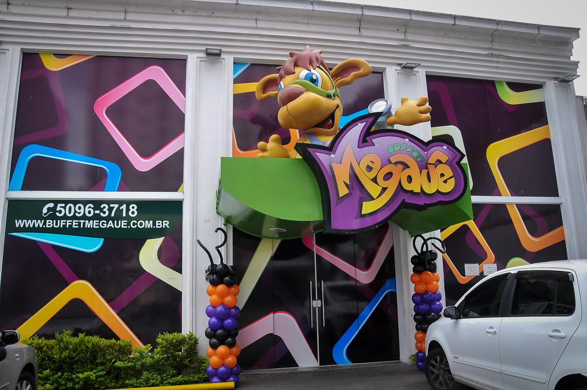 Buffet Megauê, Moema, SP, festa de aniversário infantil de Eduardo 5 anos, tema da festa Weloween