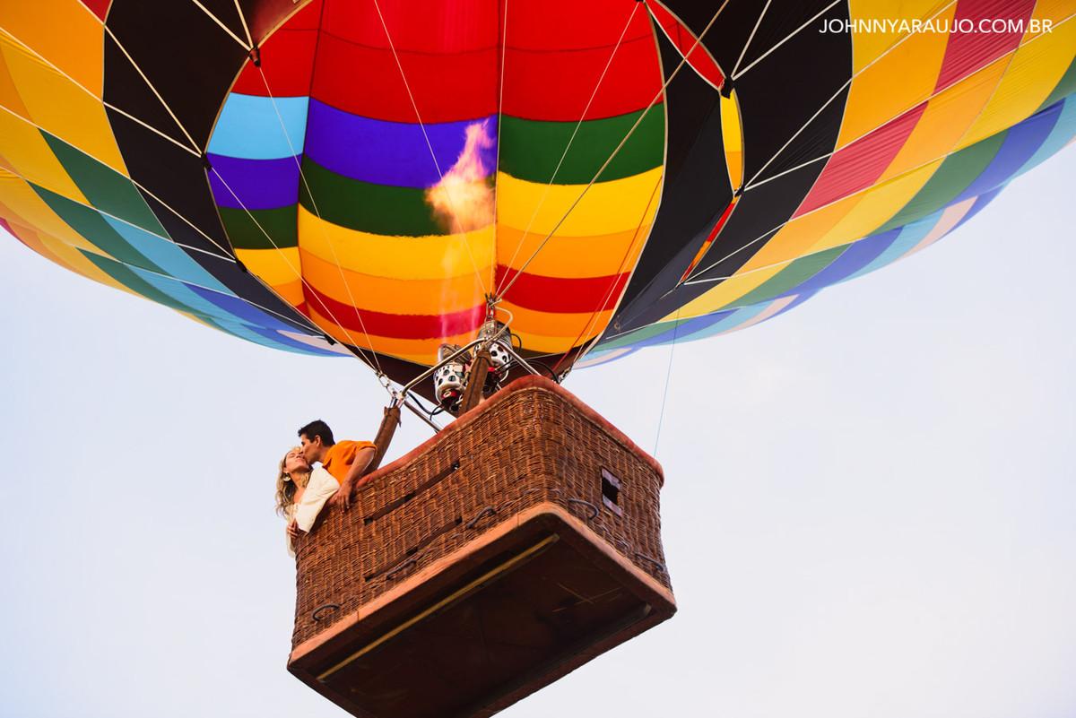 aventura em balão ensaio casal