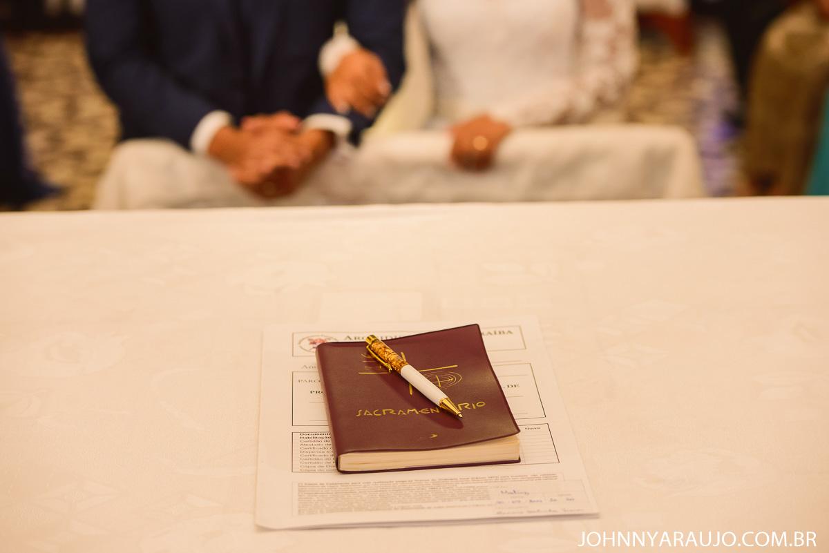 livro de assinatura