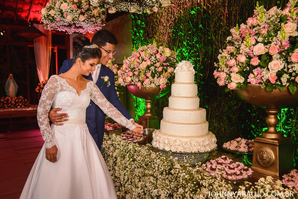 corte do bolo momento e tradição