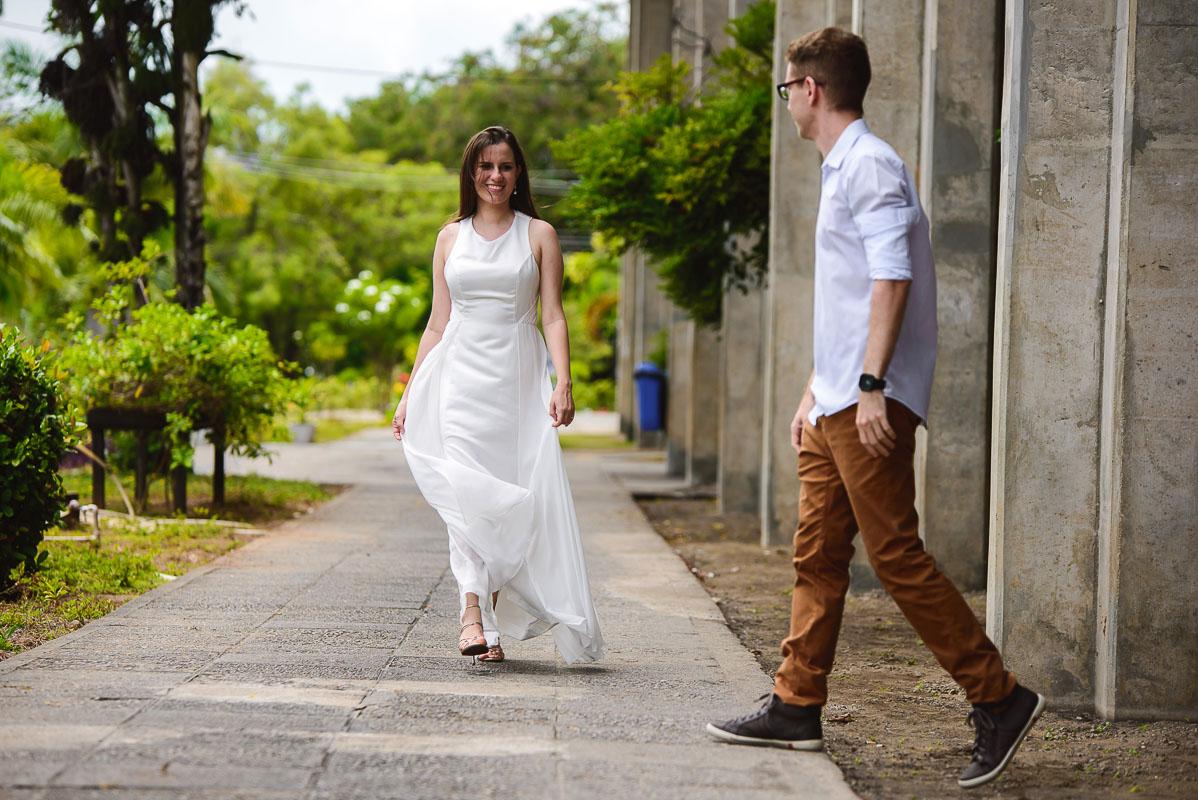 momentos do ensaio dos noivos