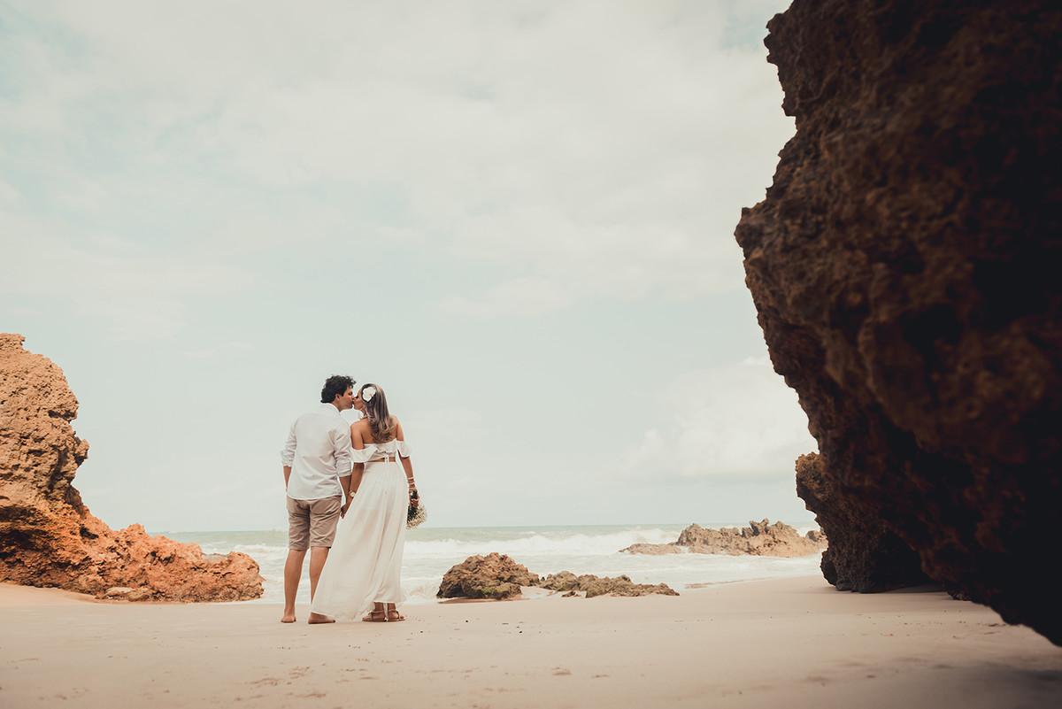 momento único para um Destination Wedding