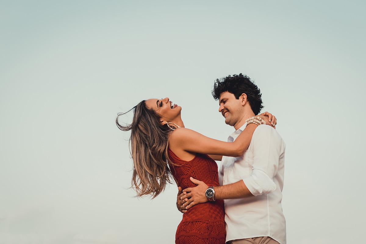 emoção e ação no ensaio dos noivos