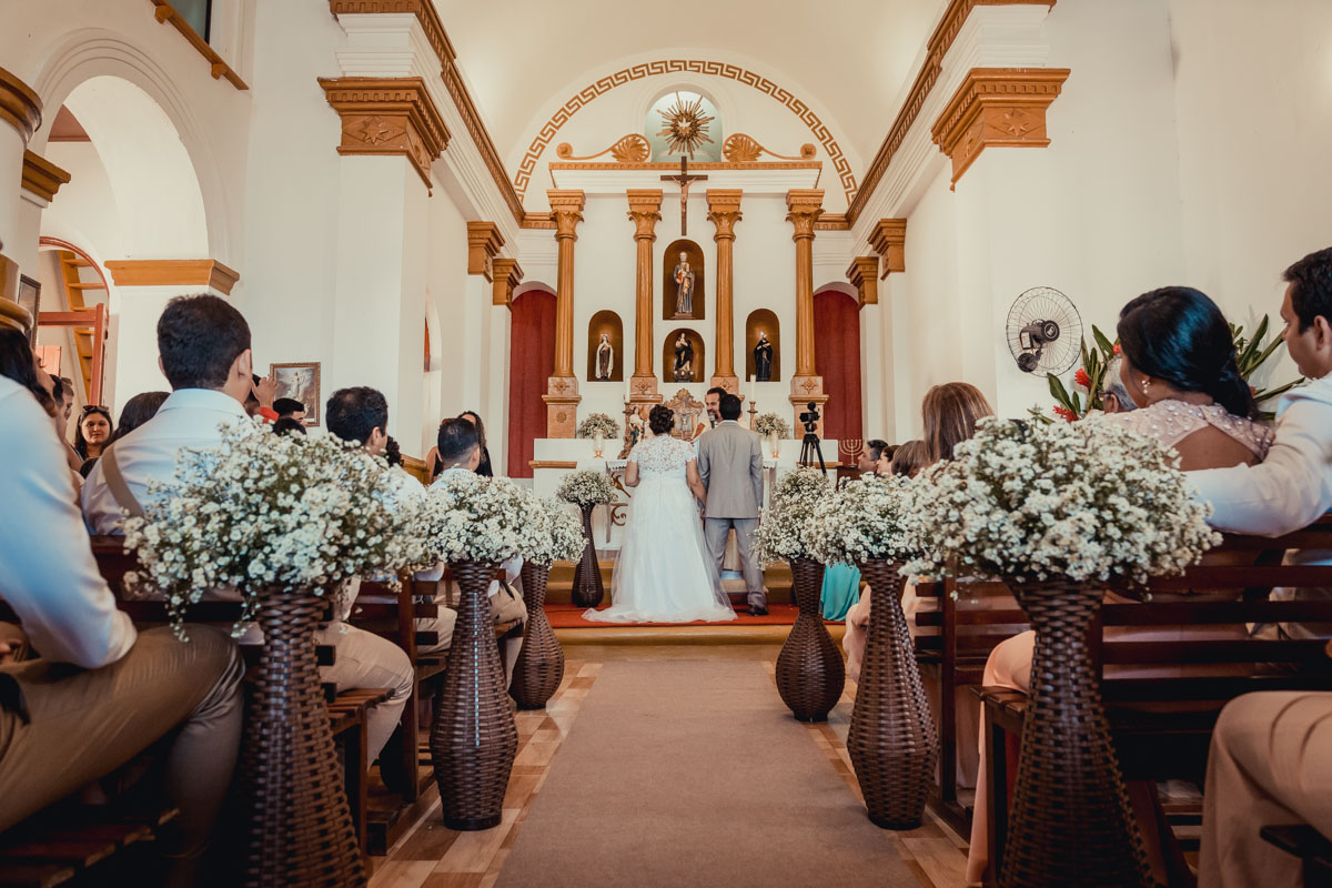 Casando na Paroquia São Pedro