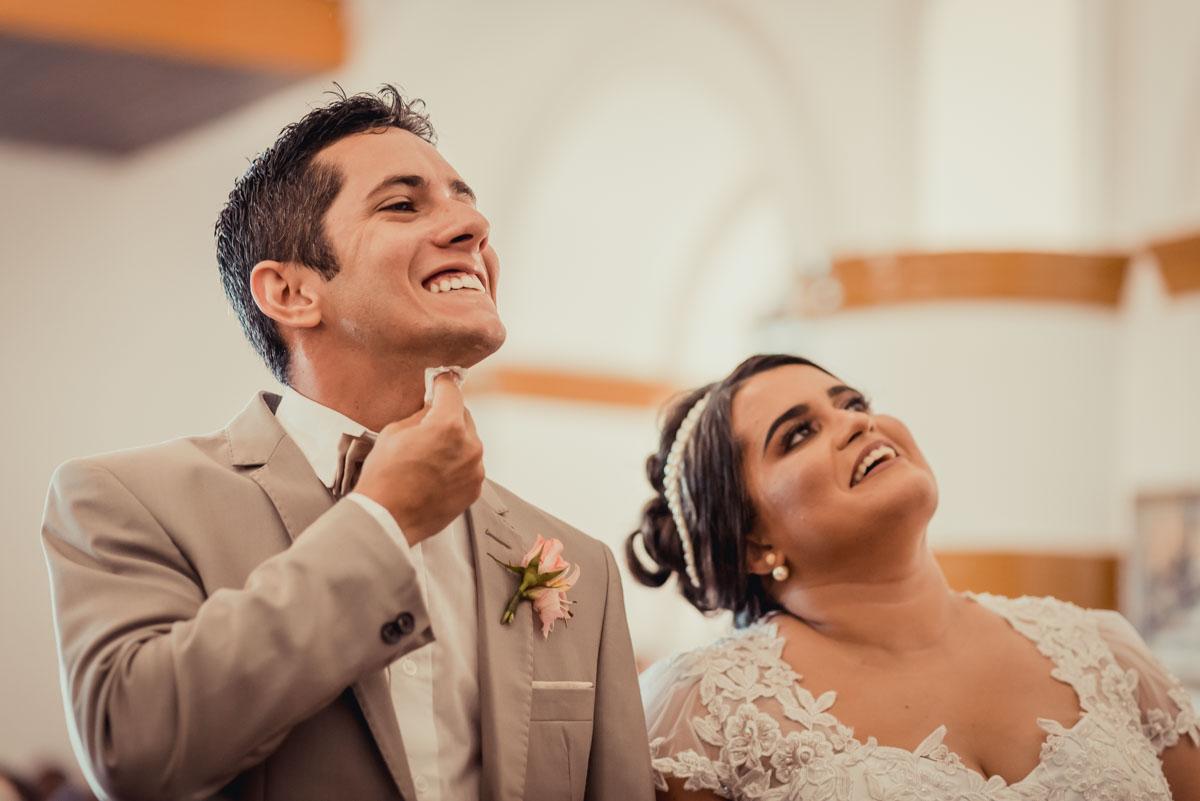 muita felicidade no dia do casamento