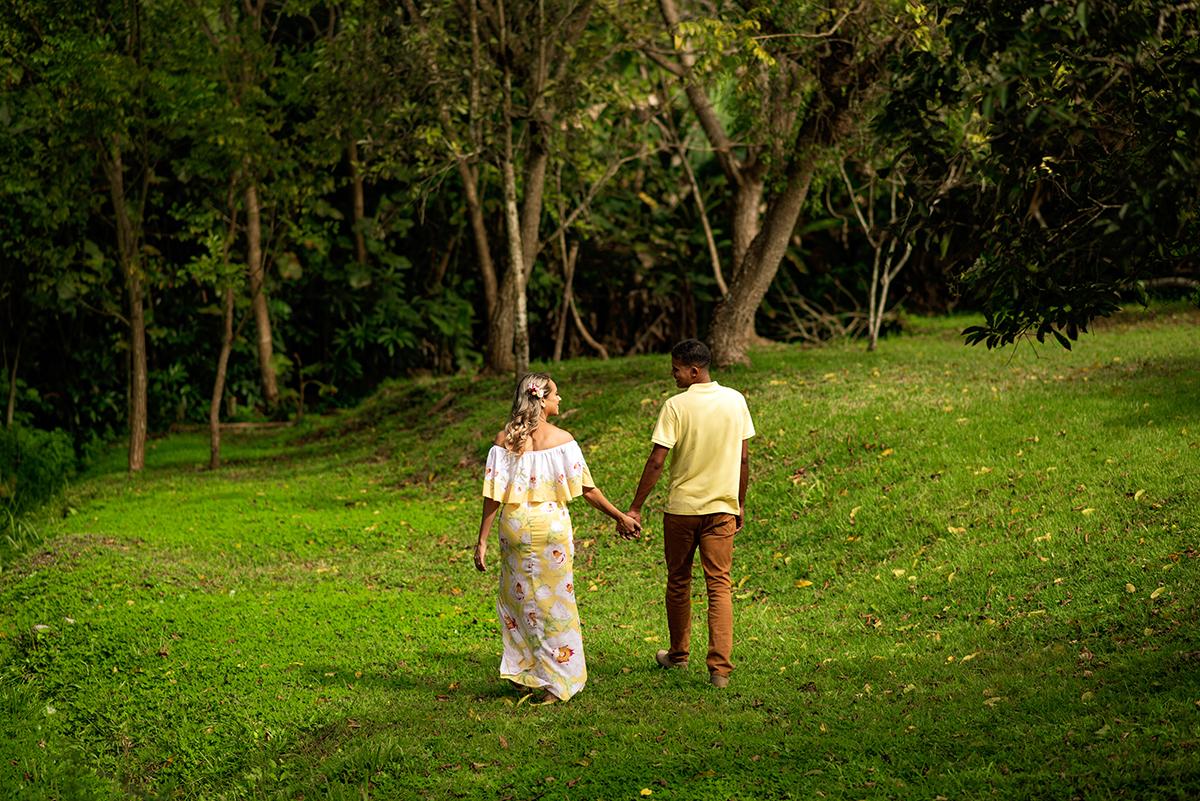 Ensaio Romântico dos Noivos Nayara e Jeferson. no Jardim Botânico em João Pessoa PB