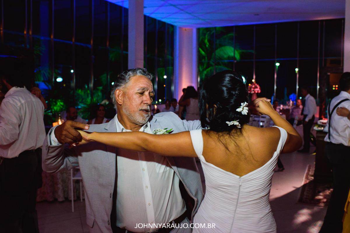dança com o pai da noiva