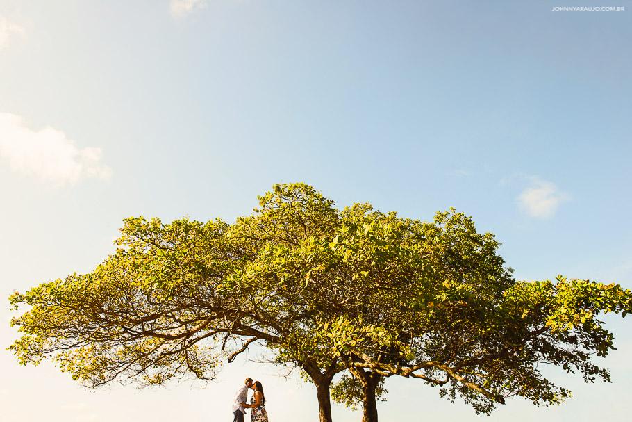 Árvore que representa a vida e a construção de uma nova familia