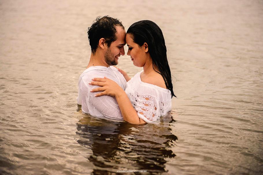 amo você ate de baixo da água