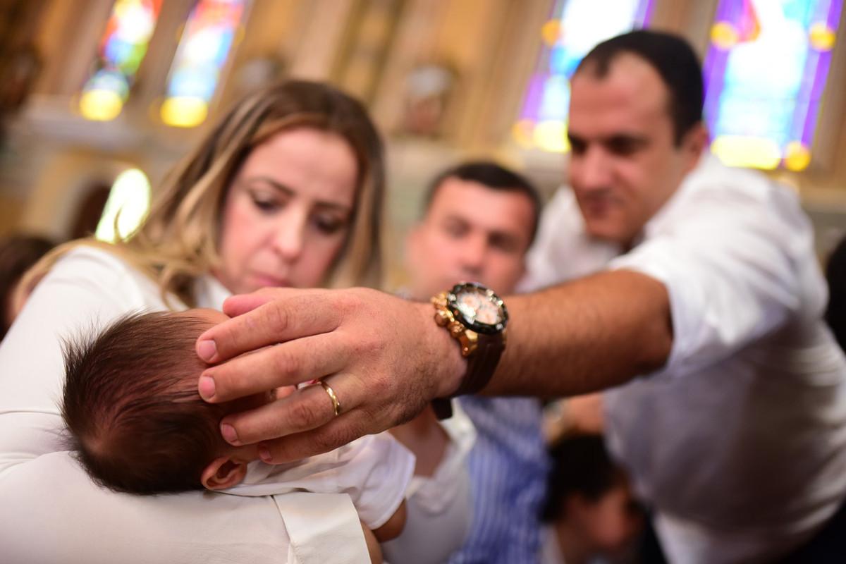 Batizado com fotos milani