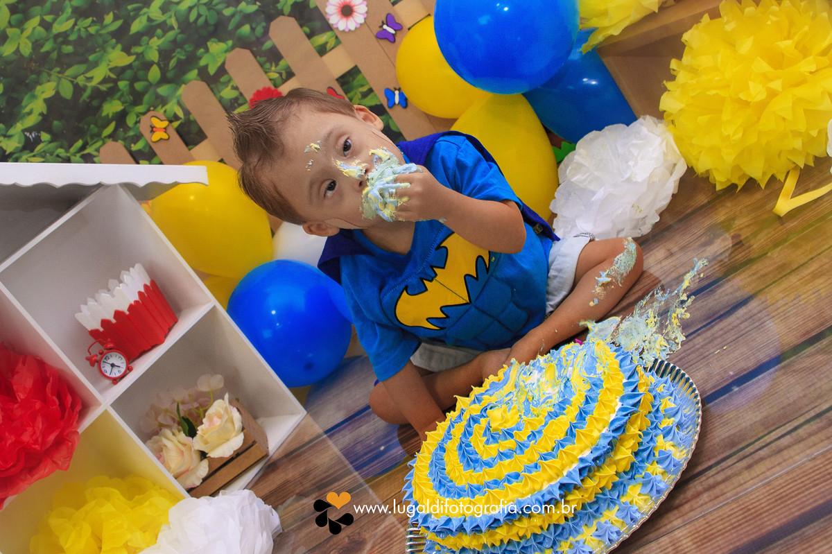 Foto de Joaquim - Smash The Cake e Páscoa