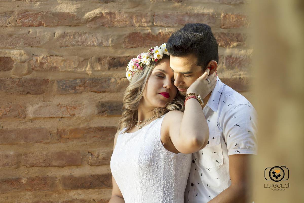 Fotos tiradas por Lu Galdi Fotografia , em Piracicaba/SP de pré wedding do noivos Francine e Vinicius
