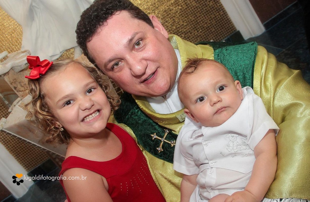 Fotos tiradas por Lu Galdi Fotografia , Batizado Miguel , na Paróquia São José , na cidade de Piracicaba/SP