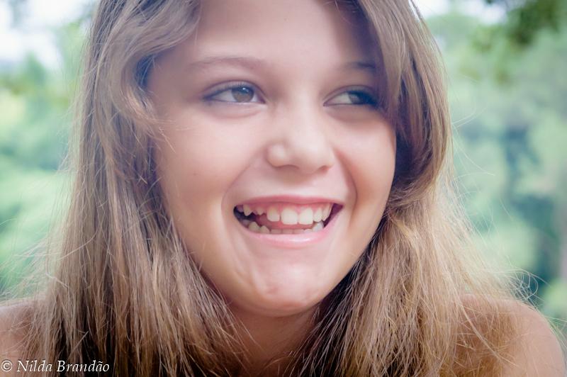Fotografia menina 10 anos