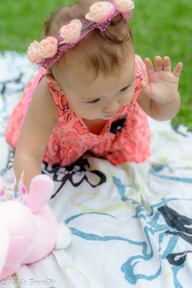 Fotografia de bebês ar livre