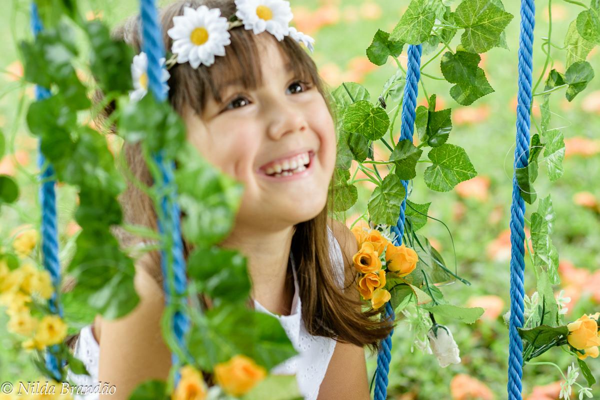 Sorriso de menina, um encanto