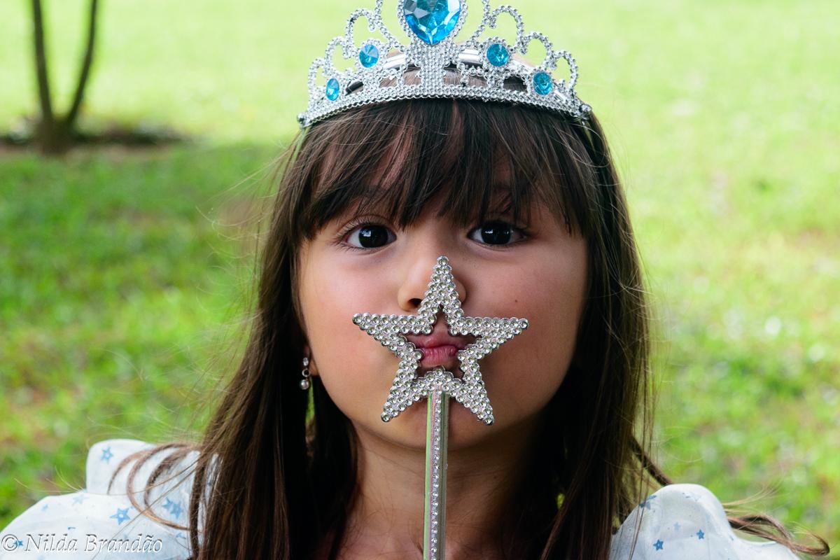 Princesa de verdade tem varinha de condão