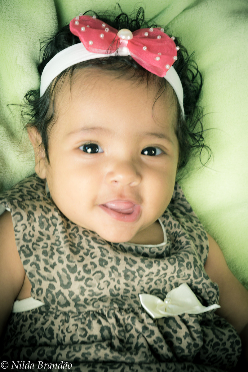 Sorriso de bebê é a coisa mais gostosa