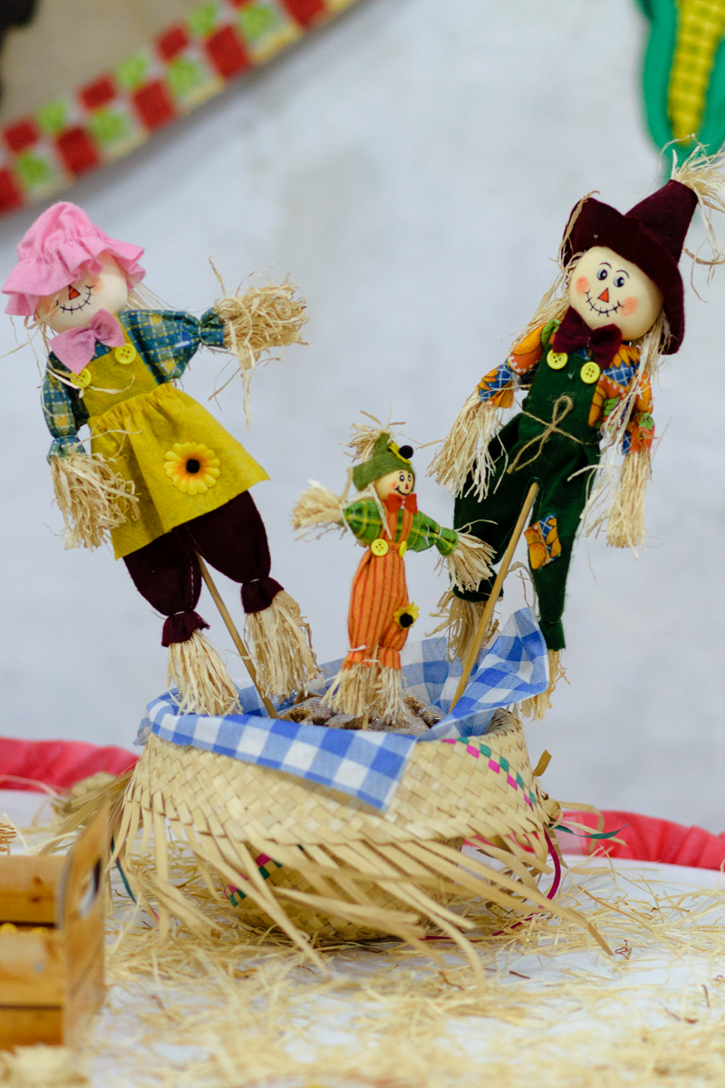 Decoração típica de festa junina