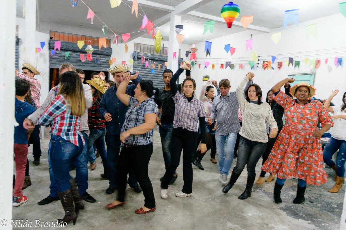 Dança de salão da familia moraes