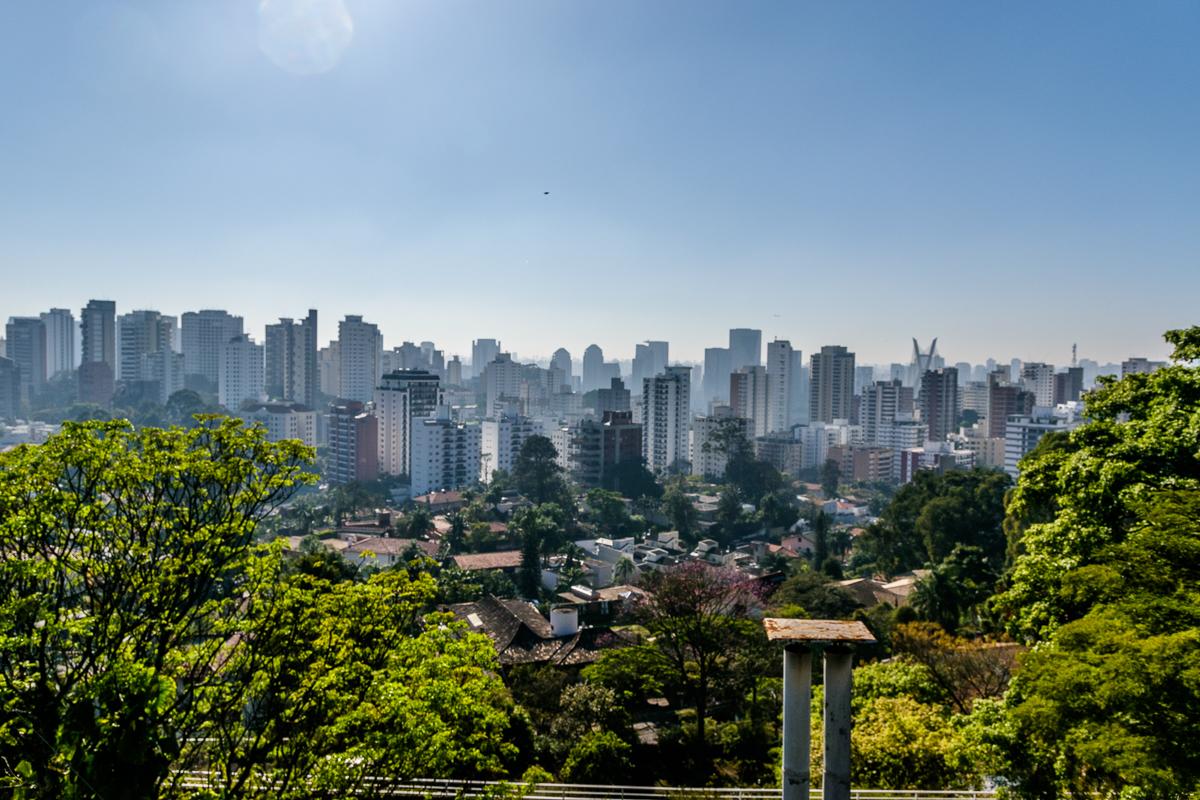 Bela vista de São Paulo, vista do Morumbi