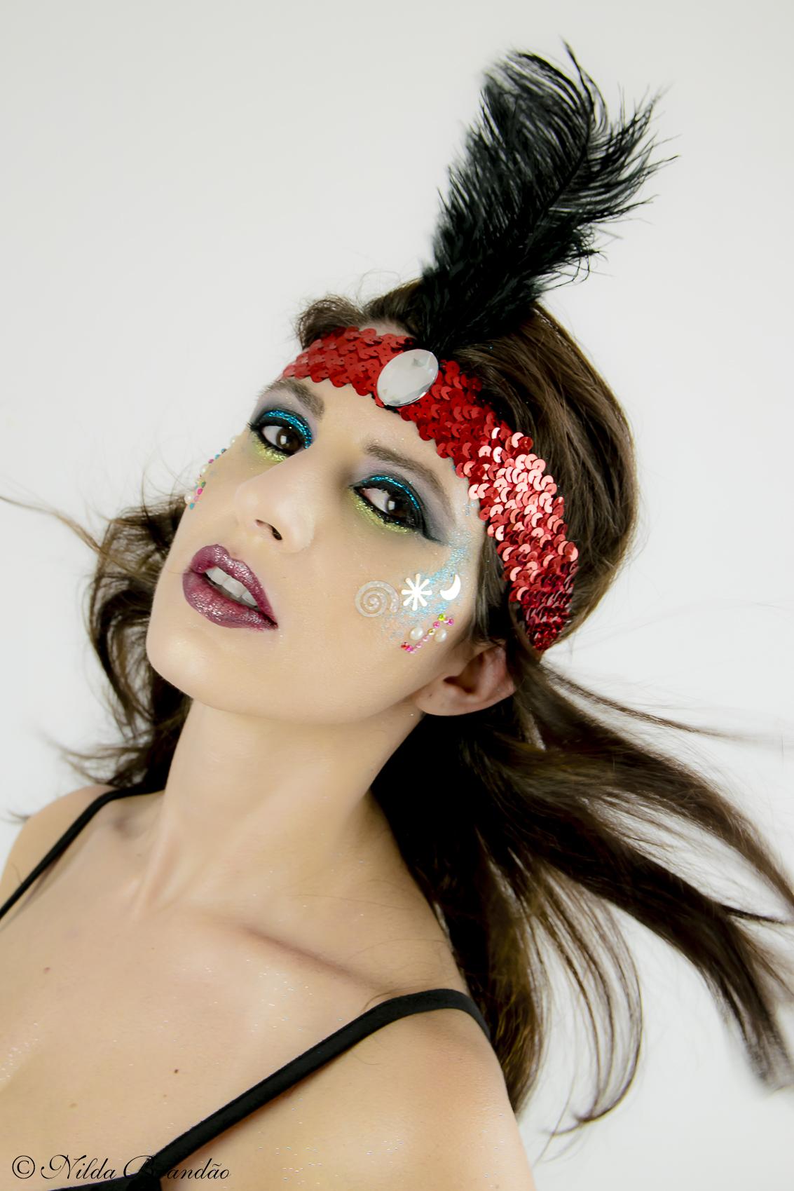 Um grande prazer fotografar o trabalho profissional da maquiadora Shirlen Moreira com sua maquiagem artística para o carnaval 2017.