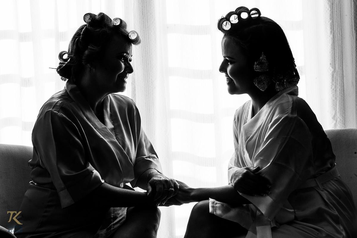 Mão e noiva