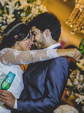 Casamento de Aline e Lucas em Velmont São Carlos - SP