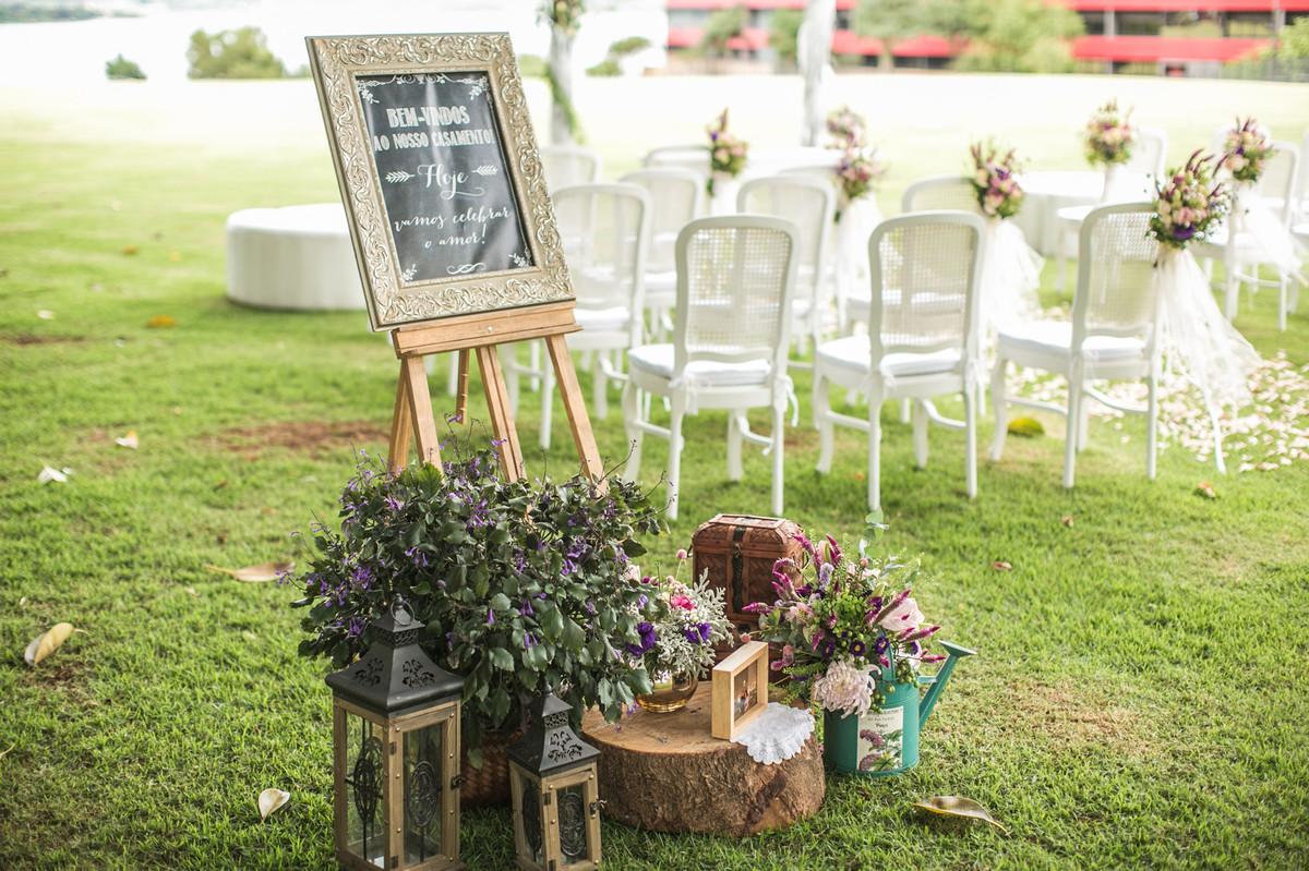 decoração do casamento da Luciana e do Adriano feito pela Hacsa Novais no Hotel Brasília Palace