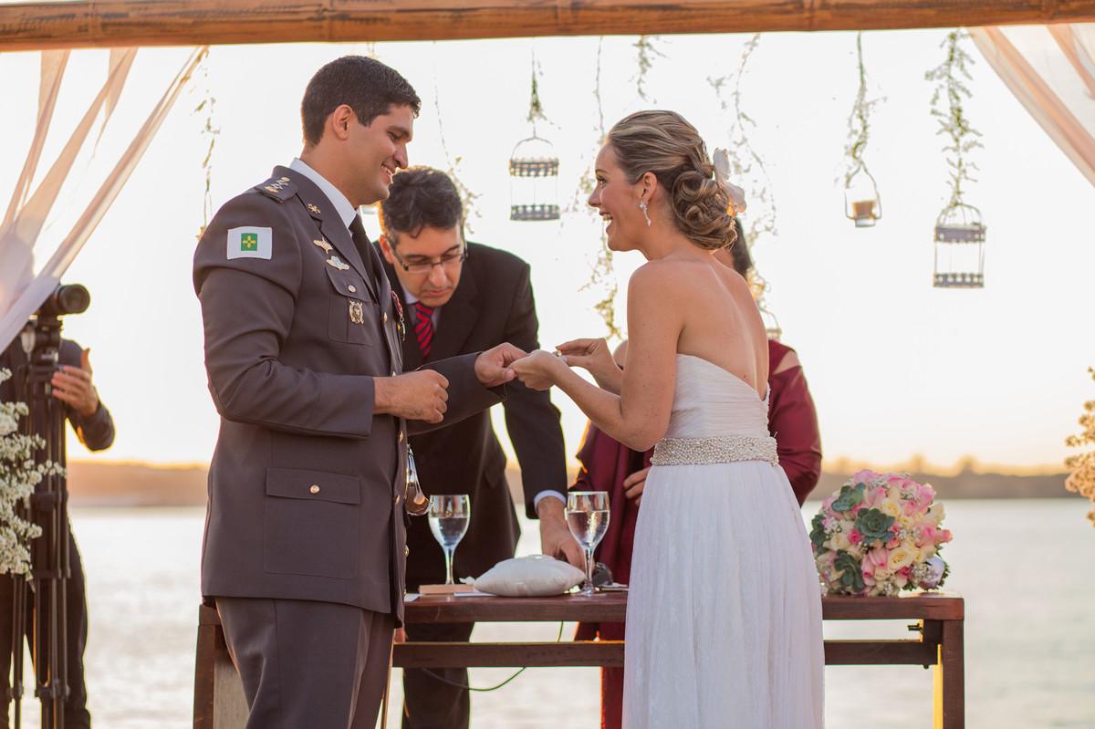 Ceriônia de casamento de Ana e Celo em Brasília-DF registrado pela equipe de Rafael Ohana Photography